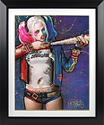 Art print Harley Quinn : Batter Up! - Limité à 250 exemplaires