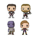 Sélection de figurines Funky Pop! Avengers : Endgame en promotion (Ex : Thor, Tony Stark, Thanos, Hulk ou Captain Marvel)