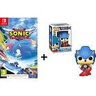 Figurine Funko Pop! Sonic offerte pour l'achat de Sonic : Team Sonic Racing sur Nintendo Switch