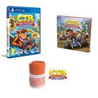 """Crash Team Racing : Nitro Fueled - Livre """"L'histoire de Crash Team Racing"""" + Serviette de plage"""