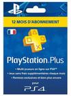 Abonnement Playstation Plus de 12 mois