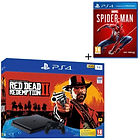 Pack PS4 1 To + Red Dead Redemption 2 + Marvel's Spider-Man