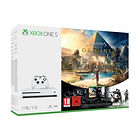 Pack Xbox One S 1 To + Assassin's Creed Origins + Rainbow Six : Siege