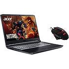 """PC Portable Gaming Acer Nitro AN517-52-505S (17.3"""", FHD 144 Hz, i5-10300H, RAM 16 Go, SSD 512 Go, RTX 3060, Win 10 + Souris)(Via ODR 100€)"""