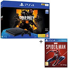 Pack PS4 1 To + Call of Duty Black Ops 4 + Marvel's Spider-Man