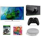 """TV Samsung 55"""" 4K + Xbox One X + 2ème manette + Destiny 2 + Artbook + Google Home mini (via ODR)"""