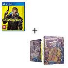 Jeu Cyberpunk 2077 sur PS4, Xbox One/Series X + Steelbook offert