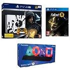 PS4 Pro 1To Édition Limitée Death Stranding + Jeu + Lampe USB PlayStation + Fallout 76