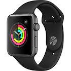 Montre Connectée Apple Watch Series 3 (Noire ou Blanche)
