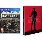 Jeu Days Gone sur PS4 + Steelbook
