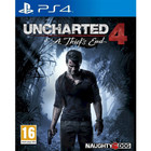 Jeu Uncharted 4 : A Thief's End - PS4