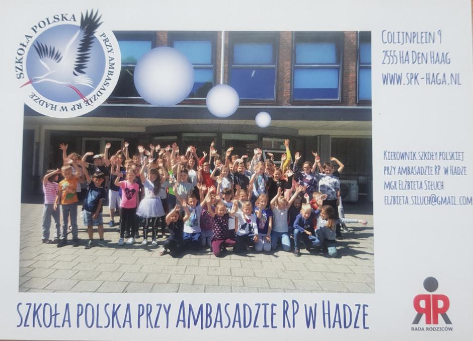 Rekrutacja do Szkoły Polskiej na rok szkolny 2020/2021!