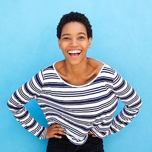 Confident Black Woman - Blue.jpg