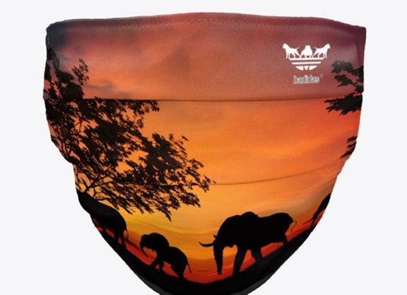 Badidas® Purple Safari Mask