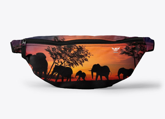 Badidas® Purple Safari Fanny Pack