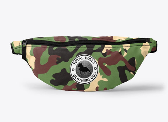 TBCC ® OD Green Camo Fanny Pack