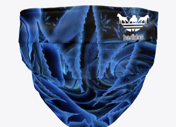 Badidas® Blue Kush Face Mask
