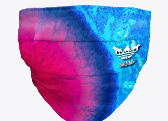Badidas® Blue Watermelon Mask