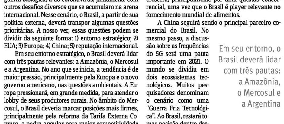Artigo de nosso Sócio sobre a Geopolítica em 2021
