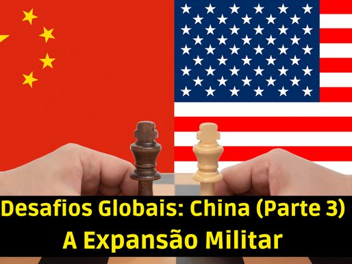 A expansão militar chinesa