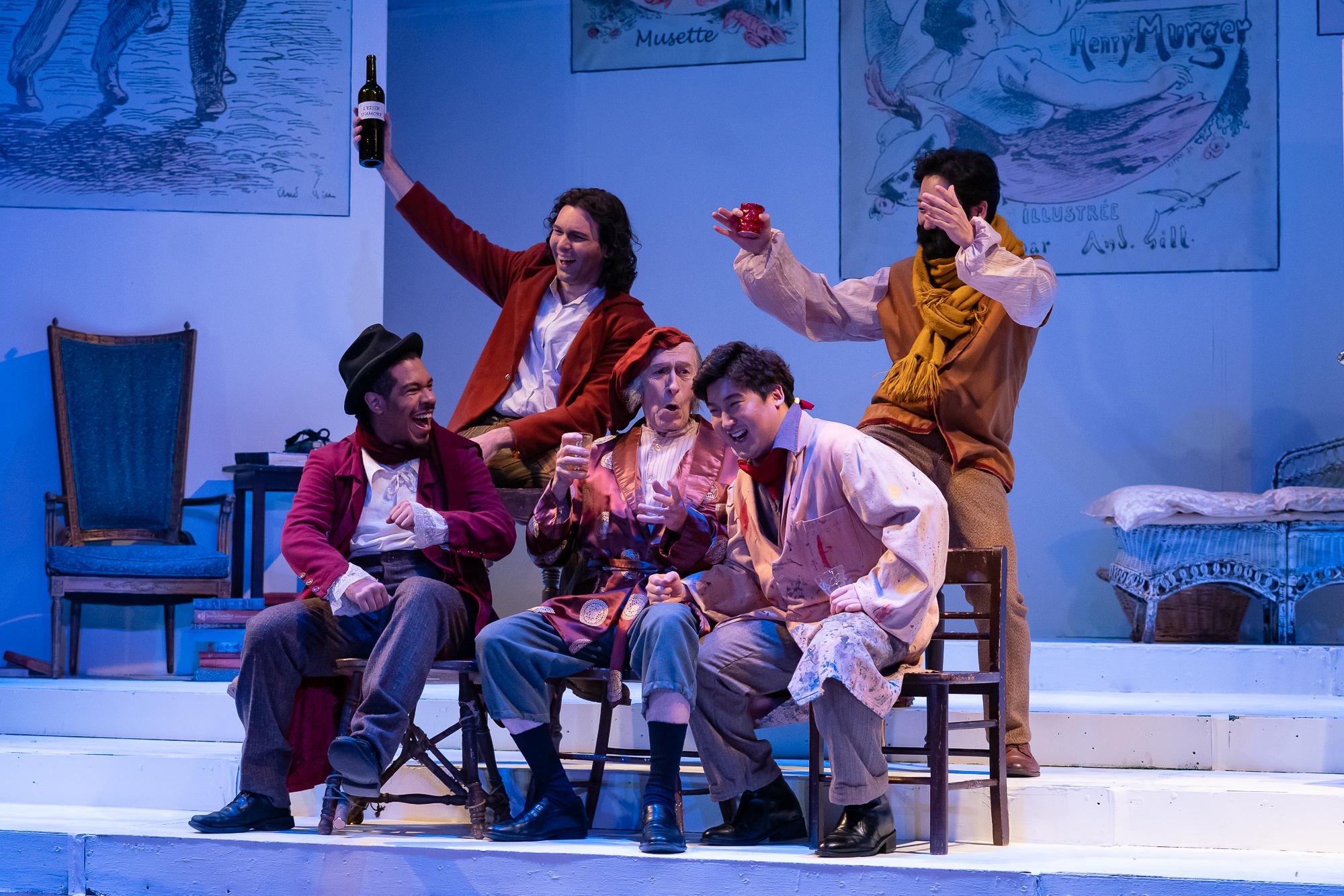 La boheme- Regina Opera