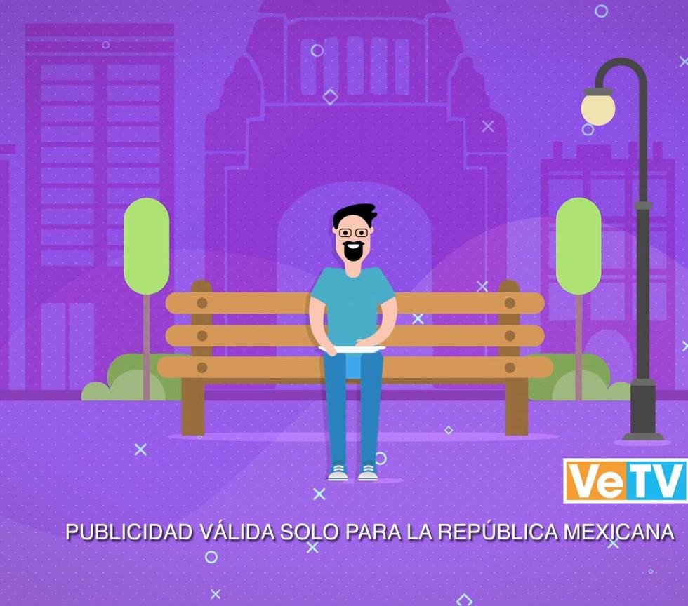 Animación Sky App VeTV