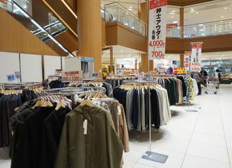 東武ストアの衣料品処分セール