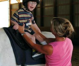 Tratando dos joelhos da criança com Paralisia Cerebral