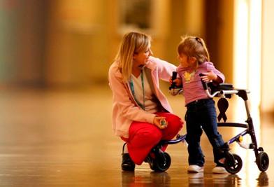 A marcha da criança com paralisia cerebral
