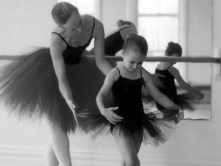 O pé da bailarina