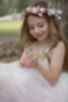 child model holding frog