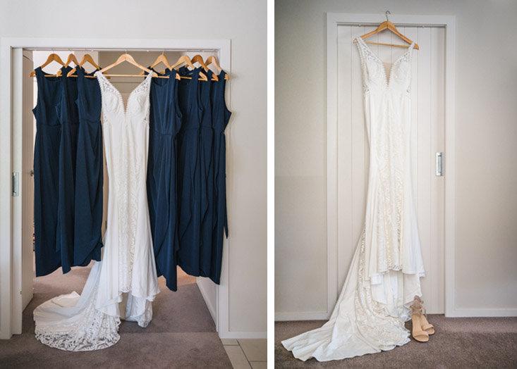 2020 wedding dress at Ohariu