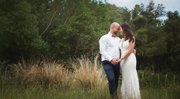 Qariah and Hayden's Ohariu Farm wedding