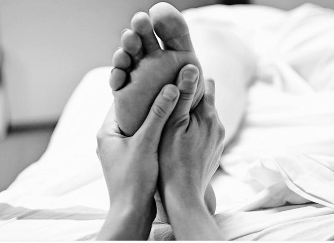 Soin réflexologie des pieds