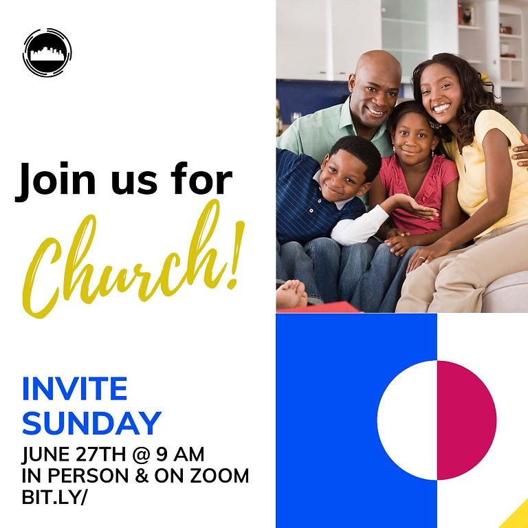 Invite Sunday