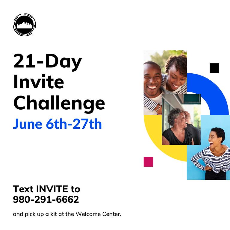 21-Day Invite Challenge