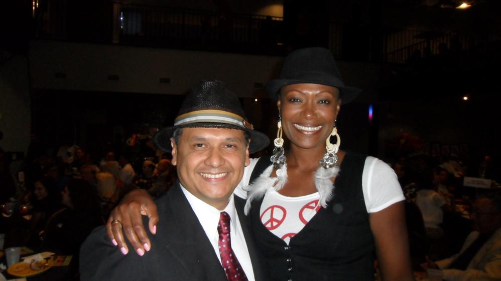 Sheriff Ed Gonzalez, Councilmember Jolanda Jones