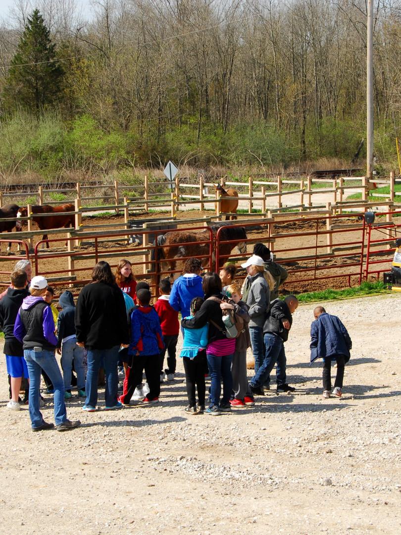 Wyland Elementary arrive for BraveHart Wellness Program