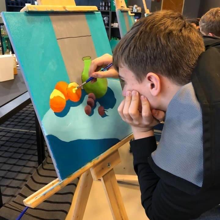 9-12th grade Art Class