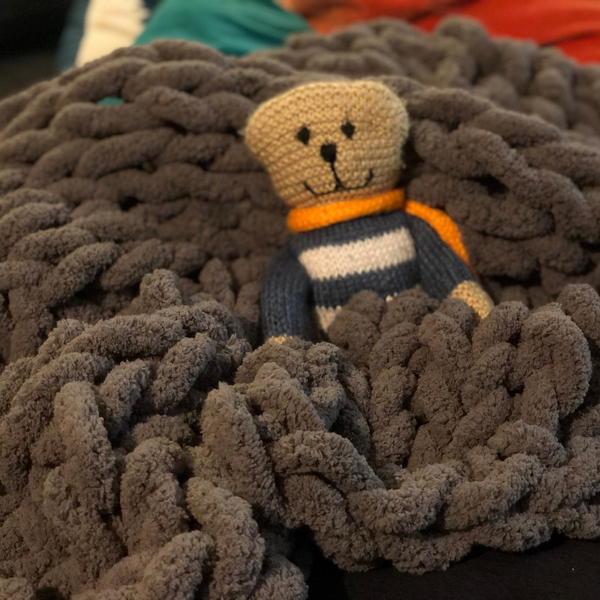 Chunky Yarn Blanket Class