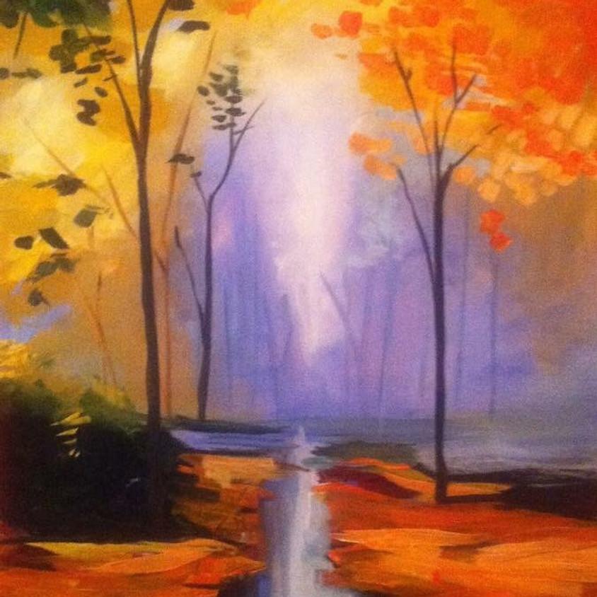 Acrylic Painting Class (Landscape)