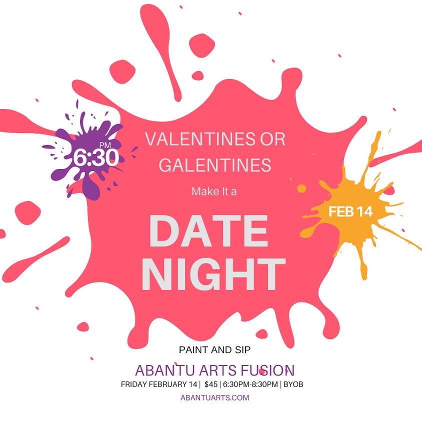 Valentines Date Night Paint