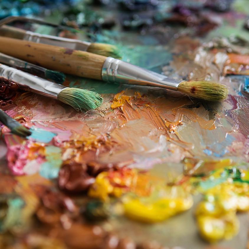 Fri. Aug. 30 Acrylic Paint 7-9 PM