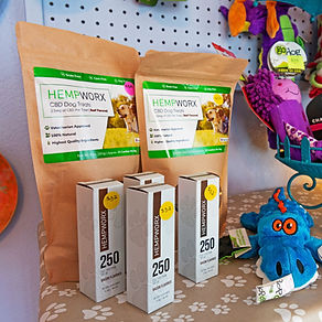 HempWorx Pet Products at Hatteras Island Pet Resort