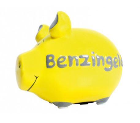 """Sparschwein """"Benzingeld"""""""