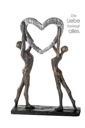 """Skulptur """"Herz"""""""