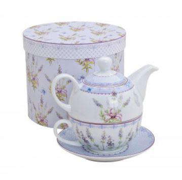 """Teekannen Set """"Lavendel"""""""