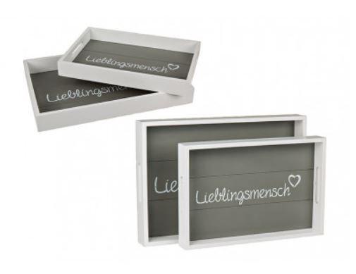 """Tablett 2er Set """"Lieblingsmensch"""""""