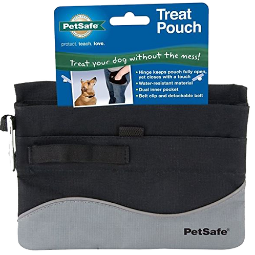 Treat Pouch with Snap-Spring Closure