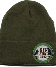 Sit Stay Cuffed Skull Cap